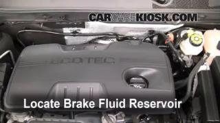 Add Brake Fluid: 2011-2016 Buick Regal