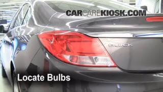 Tail Light Change 2011-2014 Buick Regal
