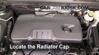 2011 Buick Regal CXL 2.4L 4 Cyl. Coolant (Antifreeze) Flush Coolant