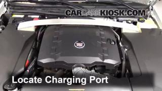 2011 Cadillac STS 3.6L V6 Air Conditioner Recharge Freon
