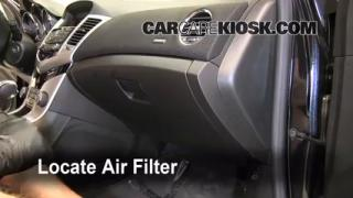 2011 Chevrolet Cruze LT 1.4L 4 Cyl. Turbo Air Filter (Cabin) Check