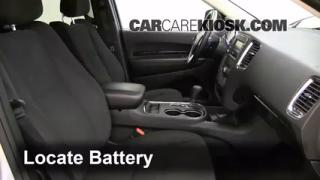 Battery Replacement: 2011-2014 Dodge Durango