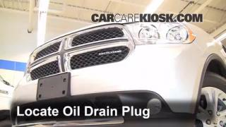 Oil & Filter Change Dodge Durango (2011-2014)