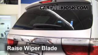 2011 Dodge Durango Crew 3.6L V6 FlexFuel Windshield Wiper Blade (Rear) Replace Wiper Blade