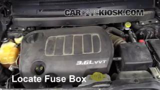 2011 Dodge Journey Mainstreet 3.6L V6 FlexFuel Fuse (Interior) Replace