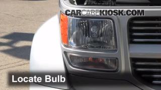 2011 Dodge Nitro Heat 3.7L V6 Lights Headlight (replace bulb)