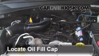 How to Add Oil Dodge Nitro (2007-2011)
