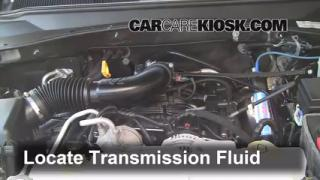 Transmission Fluid Level Check Dodge Nitro (2007-2011)