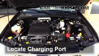 2011 Ford Escape XLT 3.0L V6 FlexFuel Air Conditioner Recharge Freon
