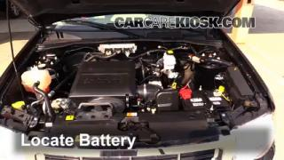 2011 Ford Escape XLT 3.0L V6 FlexFuel Battery Replace