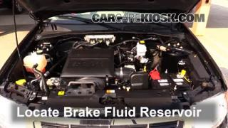 2011 Ford Escape XLT 3.0L V6 FlexFuel Brake Fluid Add Fluid