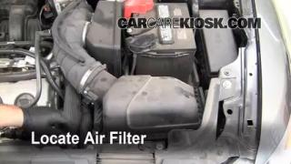 2010-2015 Ford Taurus Engine Air Filter Check
