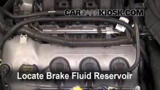2010-2015 Ford Taurus Brake Fluid Level Check