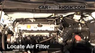 2008-2012 Honda Accord Engine Air Filter Check