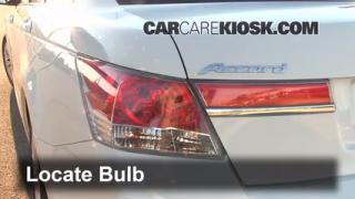 Tail Light Change 2008-2012 Honda Accord
