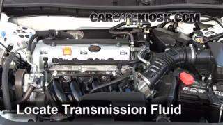 2011 Honda Accord LX 2.4L 4 Cyl. Transmission Fluid Fix Leaks