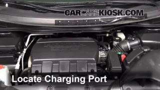 2011 Honda Odyssey EX-L 3.5L V6 Air Conditioner Recharge Freon