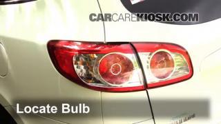 2011 Hyundai Santa Fe GLS 2.4L 4 Cyl. Lights Brake Light (replace bulb)