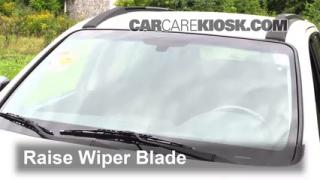 2011 Hyundai Santa Fe GLS 2.4L 4 Cyl. Windshield Wiper Blade (Front) Replace Wiper Blades