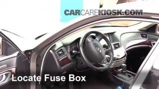 interior fuse box location 2011 2013 infiniti m37 2011 infiniti 2011 2013 infiniti m37 interior fuse check