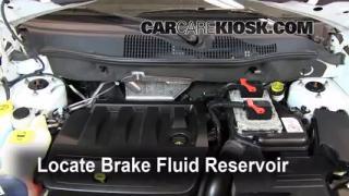 2007-2012 Dodge Caliber Brake Fluid Level Check
