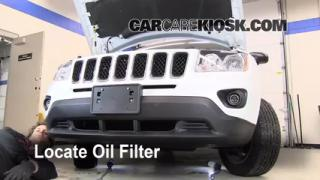 Oil & Filter Change Dodge Caliber (2007-2012)