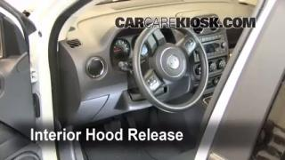 Open Hood How To 2011-2016 Jeep Compass