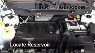 Check Windshield Washer Fluid Dodge Caliber (2007-2012)