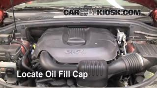 How to Add Oil Jeep Grand Cherokee (2011-2015)