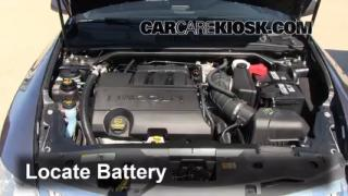 2011 Lincoln MKS 3.7L V6 Battery Clean Battery & Terminals