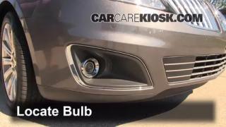 2011 Lincoln MKS 3.7L V6 Lights Fog Light (replace bulb)
