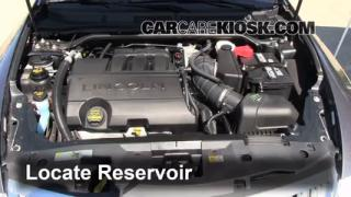 Add Windshield Washer Fluid Lincoln MKS (2009-2014)