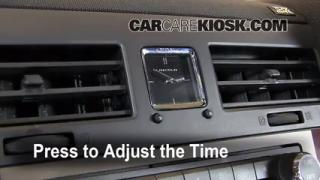 How to Set the Clock on a Lincoln Navigator (2003-2016)