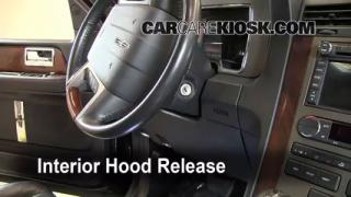 Open Hood How To 2003-2016 Lincoln Navigator