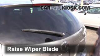 2011 Mazda CX-7 Sport 2.5L 4 Cyl. Windshield Wiper Blade (Rear) Replace Wiper Blade