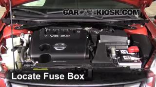 2011 Nissan Altima SR 3.5L V6 Sedan%2FFuse Engine Part 1 replace a fuse 2007 2013 nissan altima 2011 nissan altima sr where is the fuse box in a 2011 nissan altima at nearapp.co