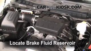 2011 Ram 1500 SLT 4.7L V8 FlexFuel Crew Cab Pickup Brake Fluid Check Fluid Level