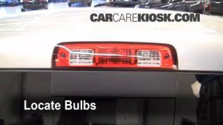 2011 Ram 1500 SLT 4.7L V8 FlexFuel Crew Cab Pickup Lights Center Brake Light (replace bulb)