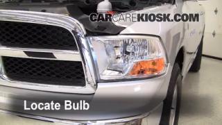 2011 Ram 1500 SLT 4.7L V8 FlexFuel Crew Cab Pickup Lights Parking Light (replace bulb)