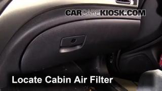 2011 Subaru Impreza 2.5i Premium 2.5L 4 Cyl. Wagon Air Filter (Cabin) Replace