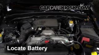 2011 Subaru Impreza 2.5i Premium 2.5L 4 Cyl. Wagon Battery Clean Battery & Terminals