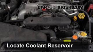 2011 Subaru Impreza 2.5i Premium 2.5L 4 Cyl. Wagon Fluid Leaks Coolant (Antifreeze) (fix leaks)