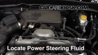 2011 Subaru Impreza 2.5i Premium 2.5L 4 Cyl. Wagon Power Steering Fluid Add Fluid