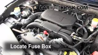 Blown Fuse Check 2010-2014 Subaru Legacy