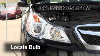 2011 Subaru Legacy 2.5i Premium 2.5L 4 Cyl. Lights Daytime Running Light (replace bulb)