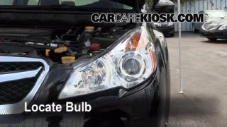 2011 Subaru Legacy 2.5i Premium 2.5L 4 Cyl. Lights Turn Signal - Front (replace bulb)