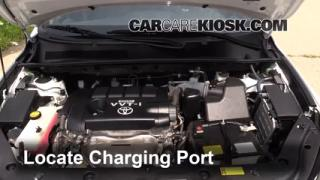 2011 Toyota RAV4 Sport 2.5L 4 Cyl. Air Conditioner Recharge Freon