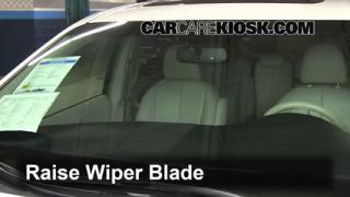 2011 Toyota Sienna XLE 3.5L V6 Windshield Wiper Blade (Front) Replace Wiper Blades