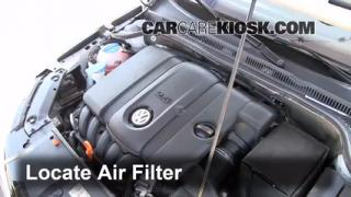 2011 Volkswagen Jetta SE 2.5L 5 Cyl. Sedan Air Filter (Engine) Check