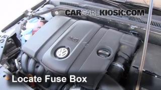 2011 Volkswagen Jetta SE 2.5L 5 Cyl. Sedan Fuse (Engine) Check